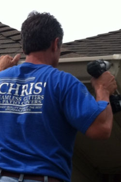 Chris Seamless Gutters Amp Patio Covers Gutter